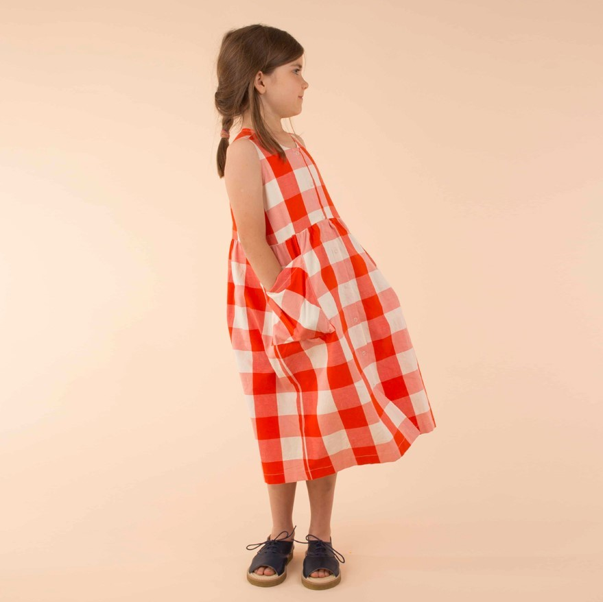 Tinycottons Long Dress( 4Y )