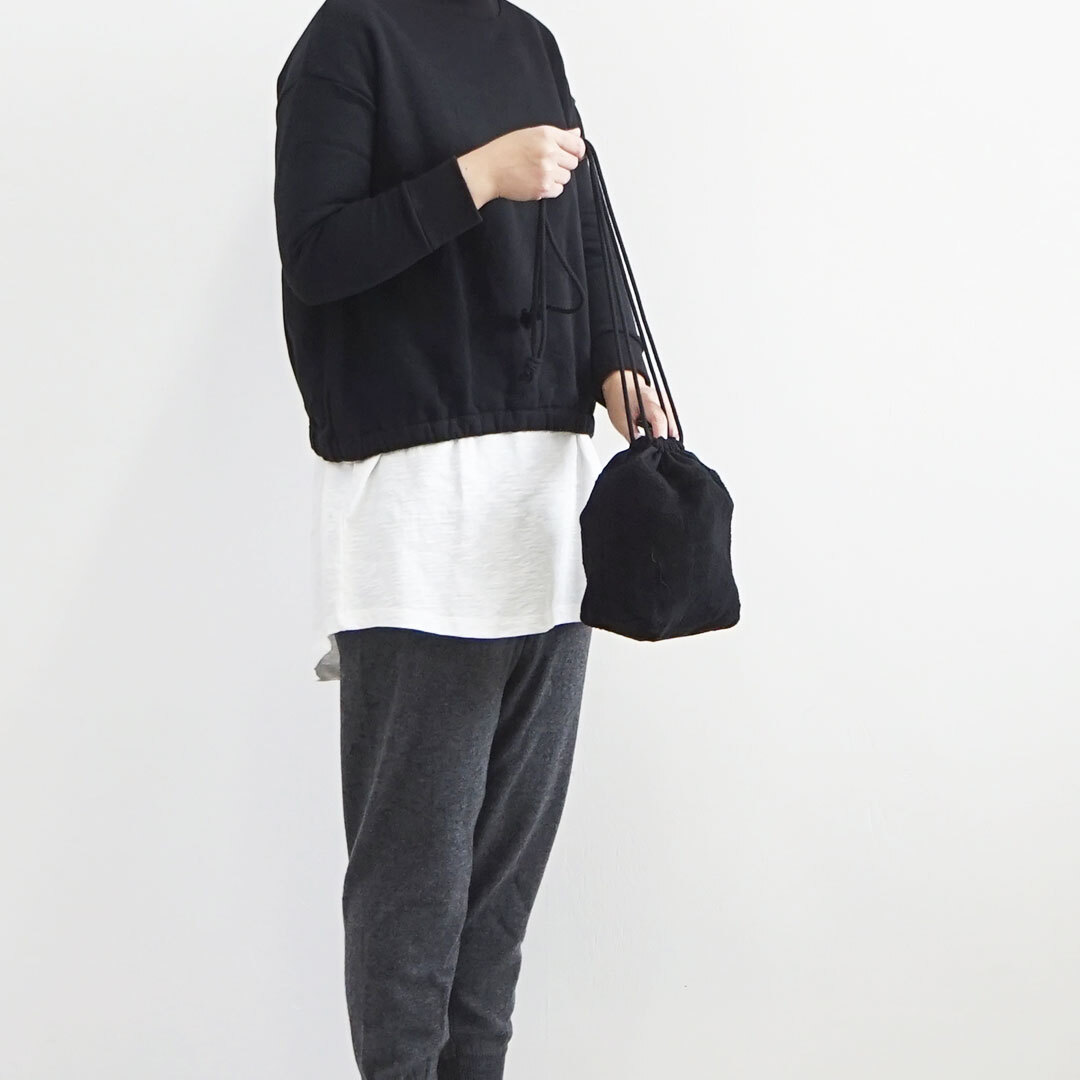 prit プリット パイル巾着ポシェット (品番p00001)