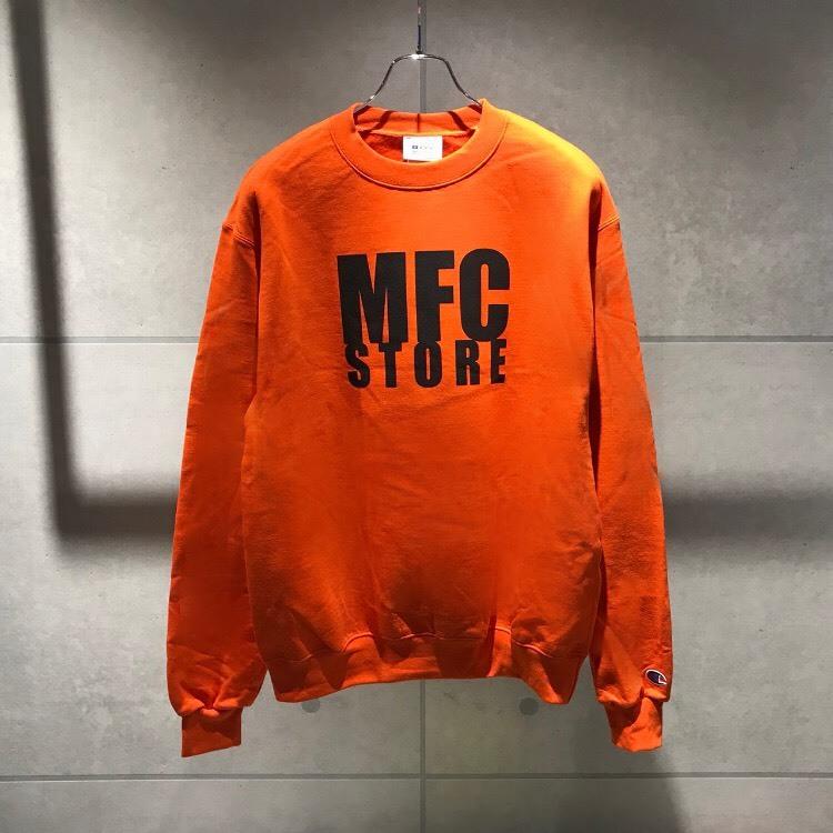 MFC STORE LOGO CREWNECK SWEATSHIRT / ORANGE