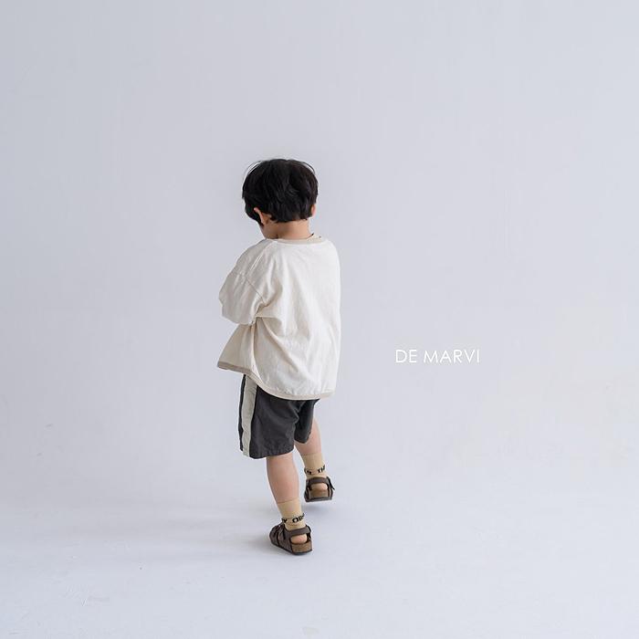 line short pants. 〔ライン ショートパンツ〕