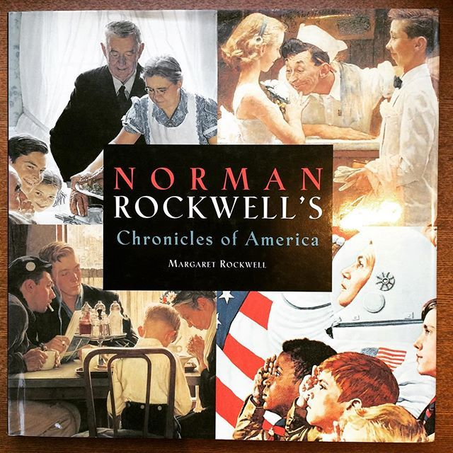 画集「Norman Rockwell's Chronicles of America」 - 画像1