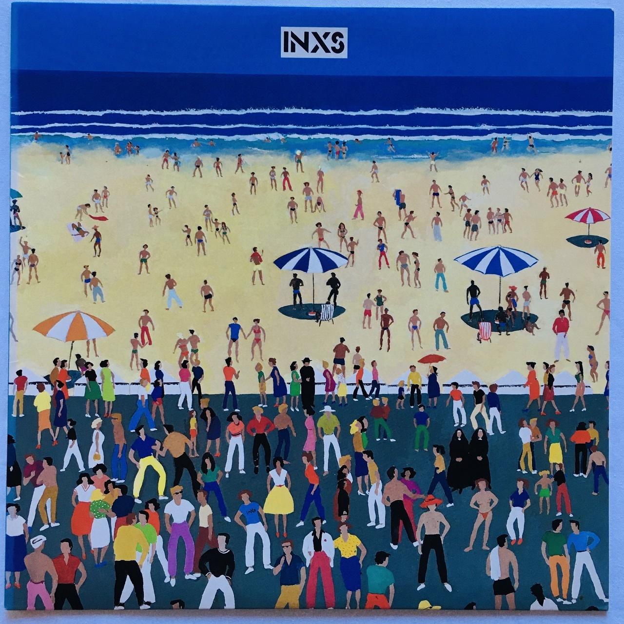 【LP・米盤】INXS  /  INXS