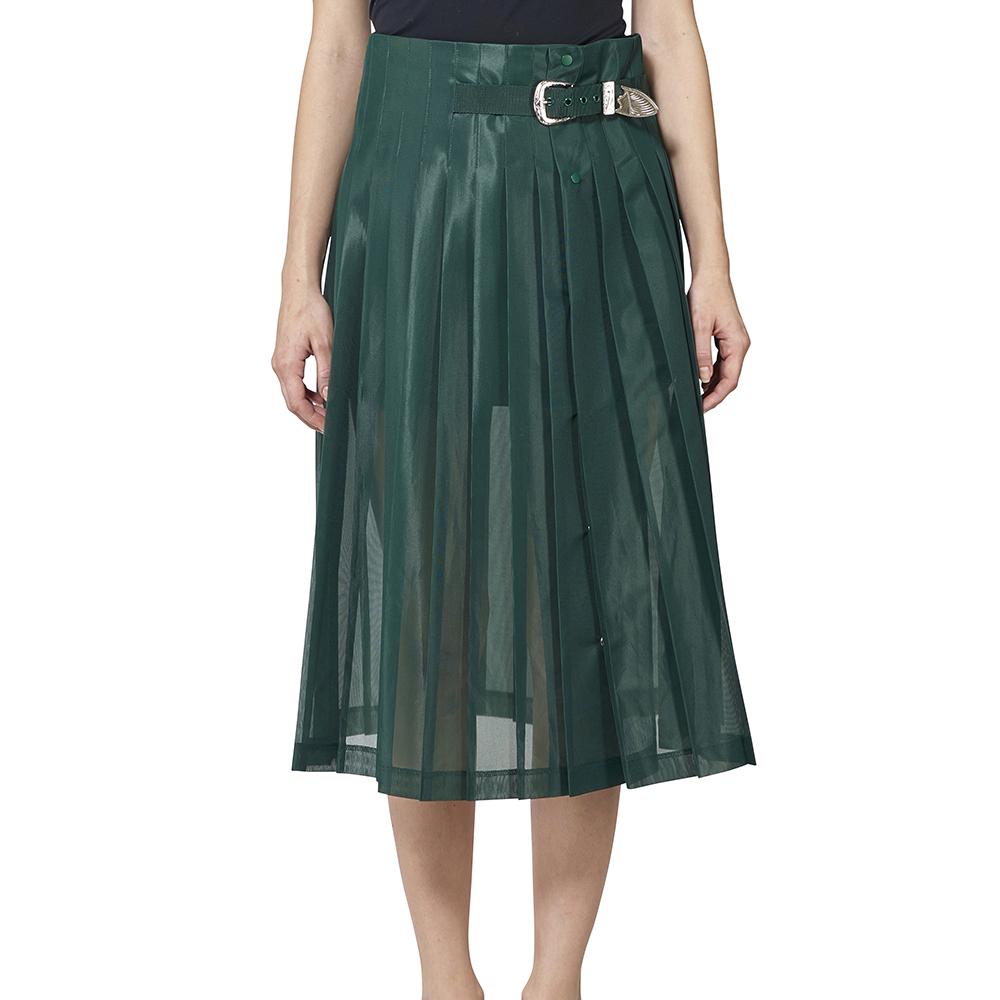 TOGA Polyester mesh skirt