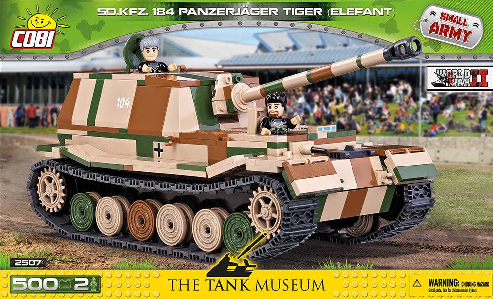 COBI #2507 Sd.Kfz.184 エレファント (Elephant)