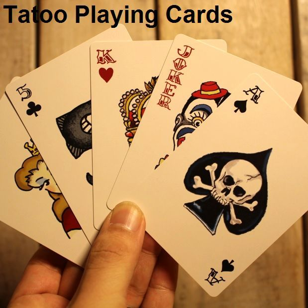 Tatoo Playing Cards