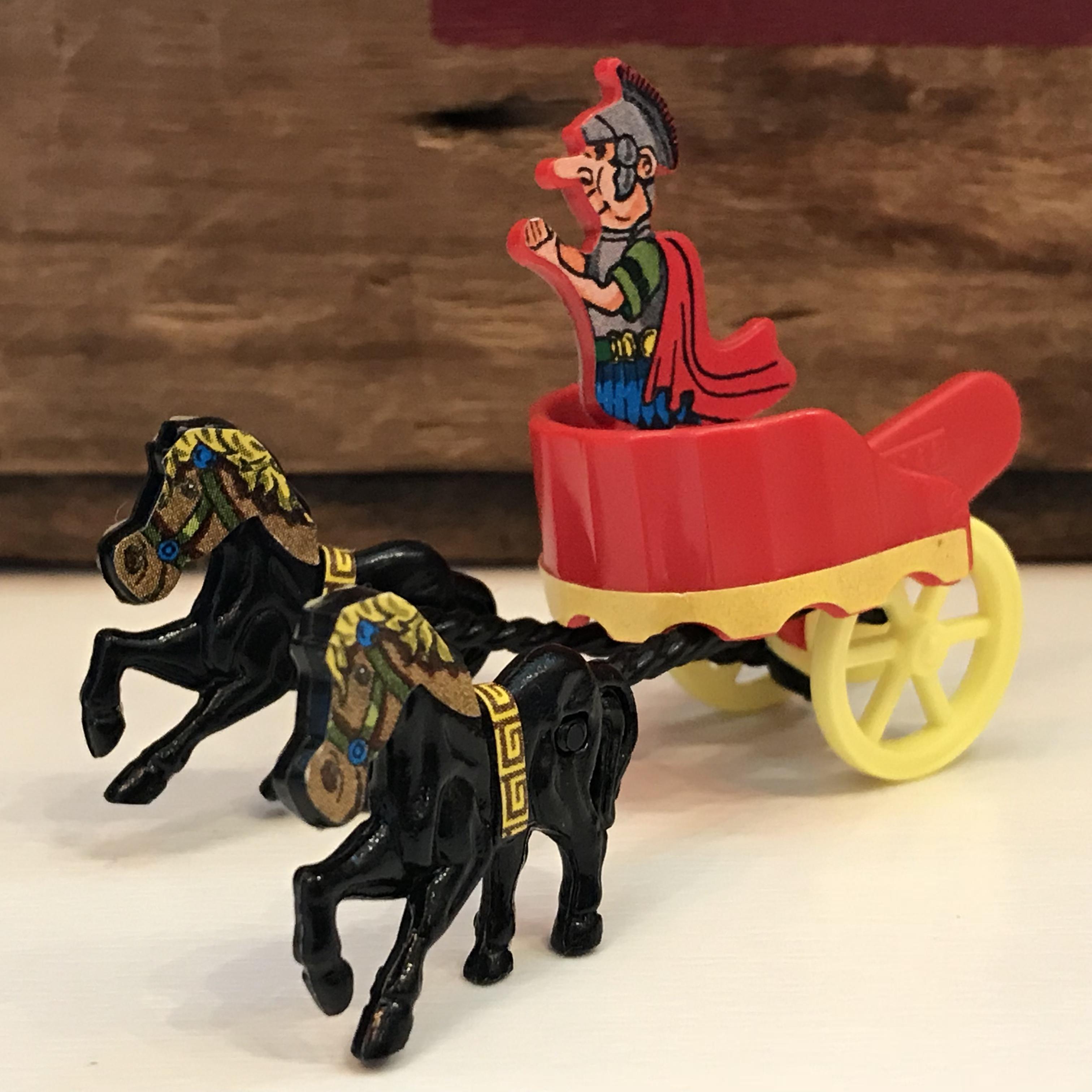 キンダーサプライズ 中世の騎士と馬 フィギュア