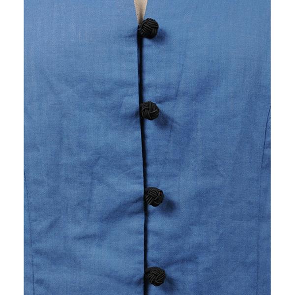 df17SM-05 GAUZE VEST (blue)