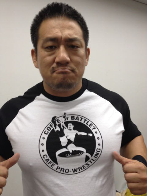 DDTカフェプロTシャツ:ブラック(無糖)