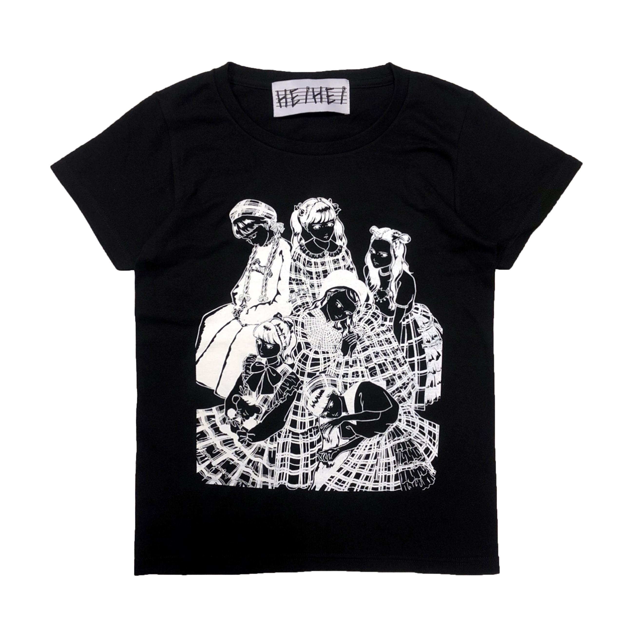 シルクスクリーンTシャツ(ガールズ)