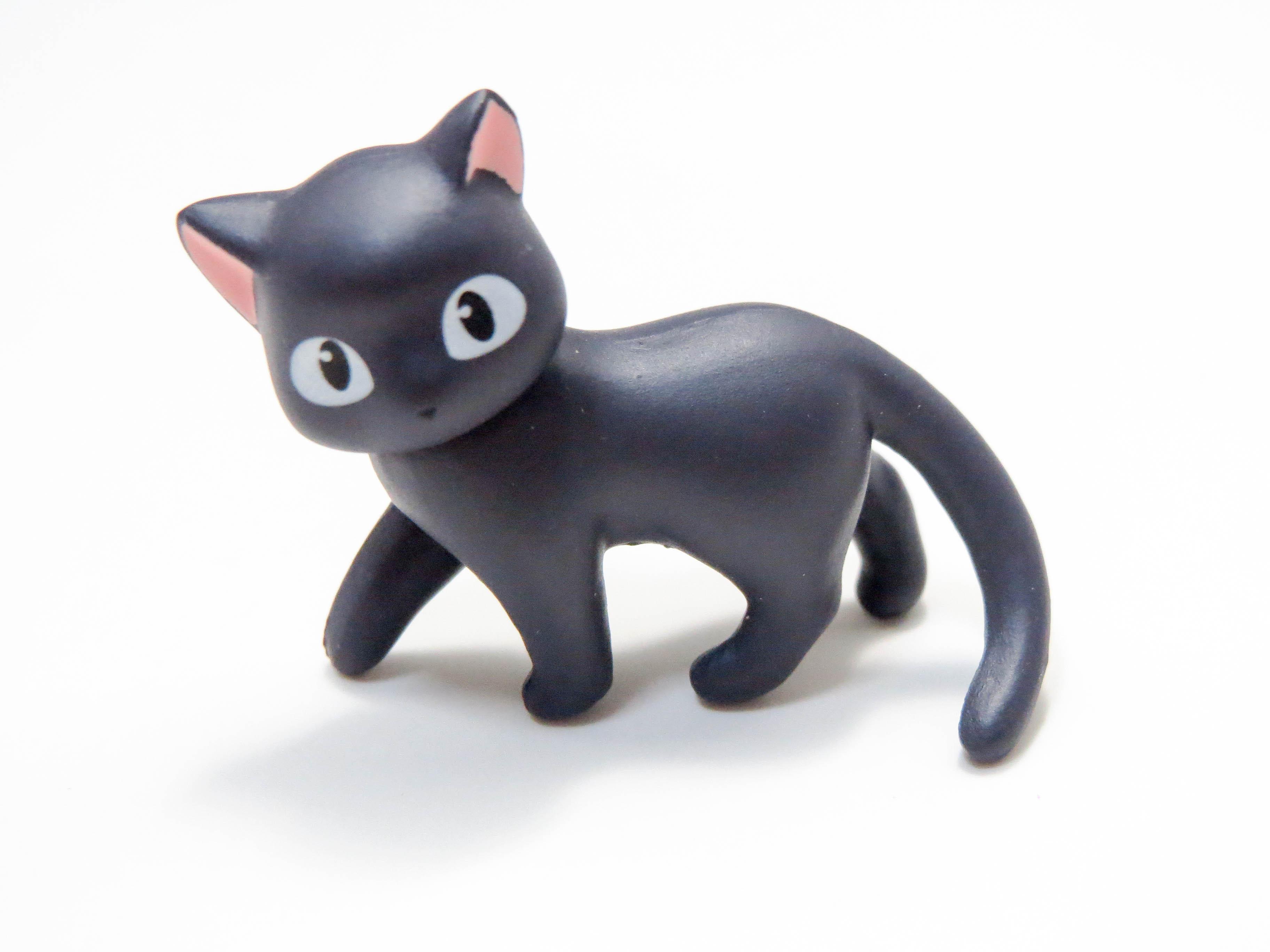 再入荷【404】 羽川翼 小物パーツ 黒猫 ねんどろいど