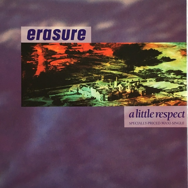 【12inch・米盤】Erasure / A Little Respect