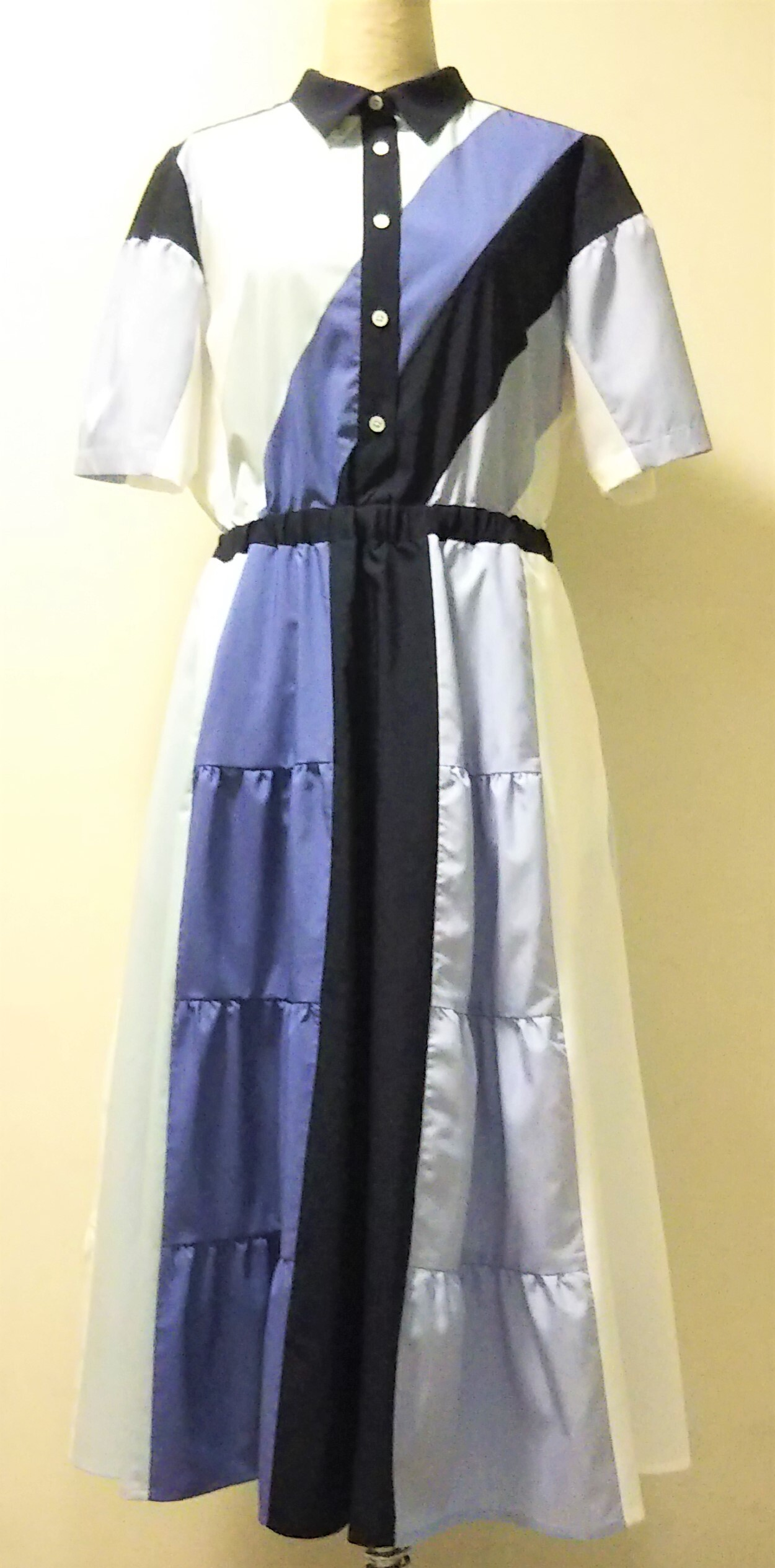 T/R MIXED TIERED ONEPIECE