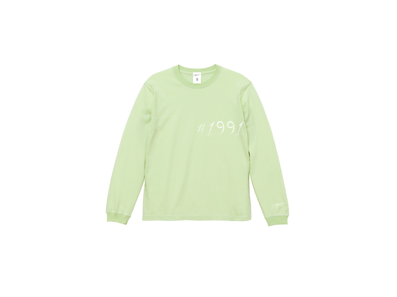 1991 big logo pastel long T-shirts (LGR)