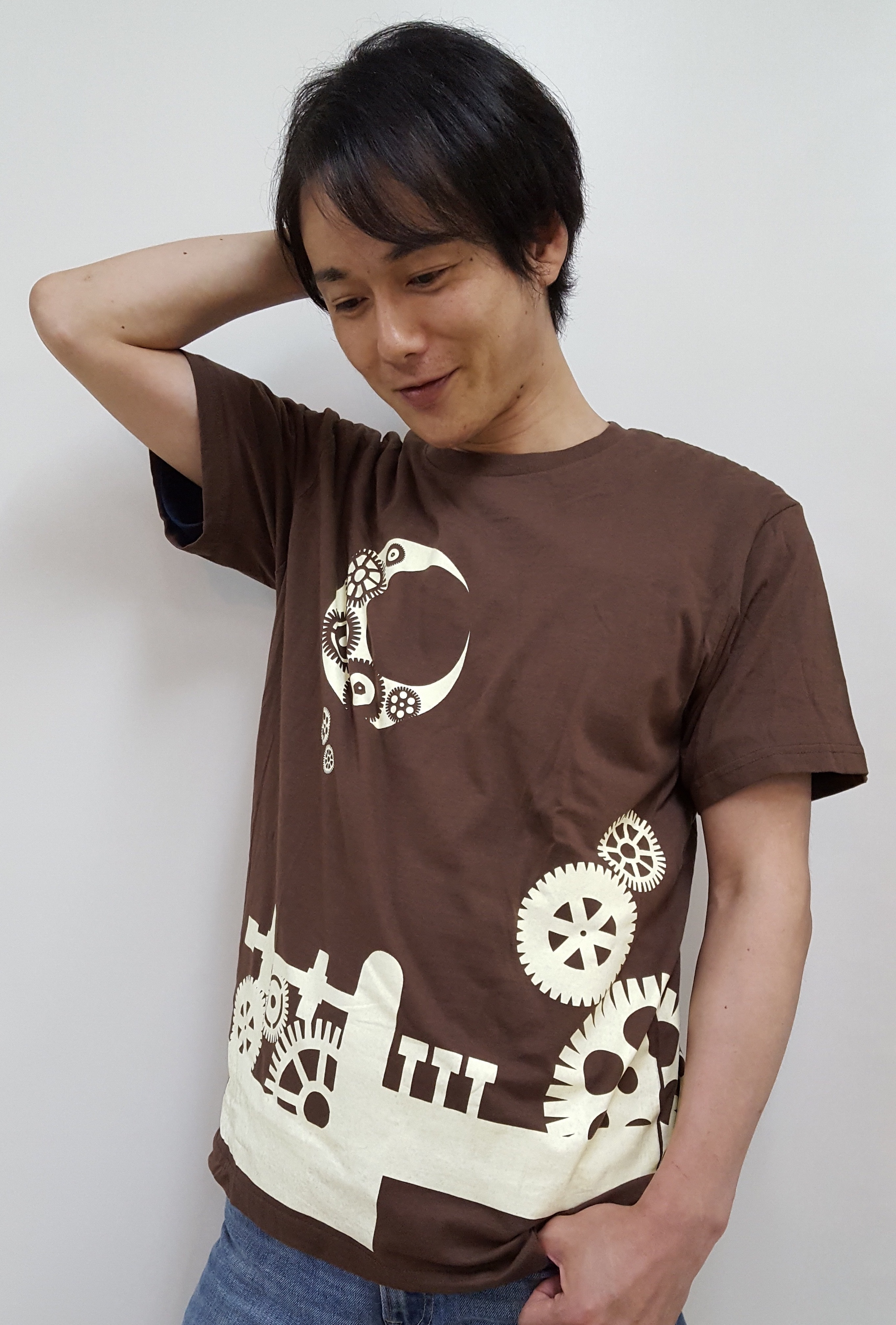 Tシャツ 「シアターグリーン3劇場連動企画」ブラウン