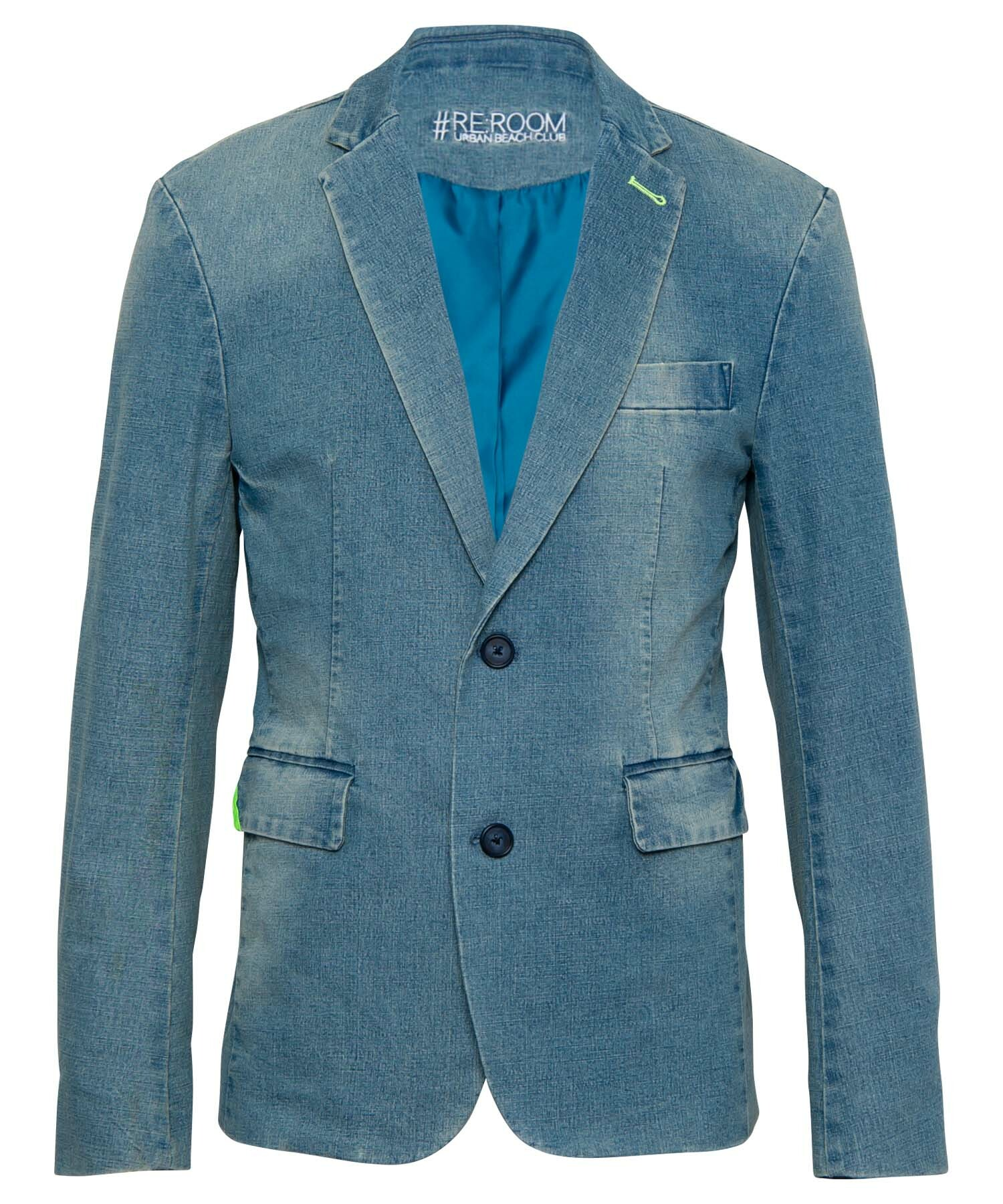 VINTAGE DENIM TAILORED JACKET[RUJ004]
