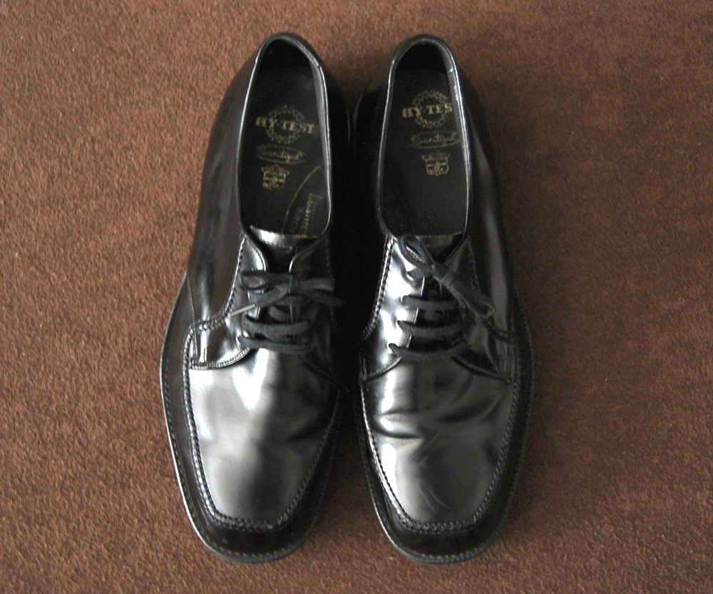 70s Vintage SAFETY SHOES HY-TEST 7.5EEE