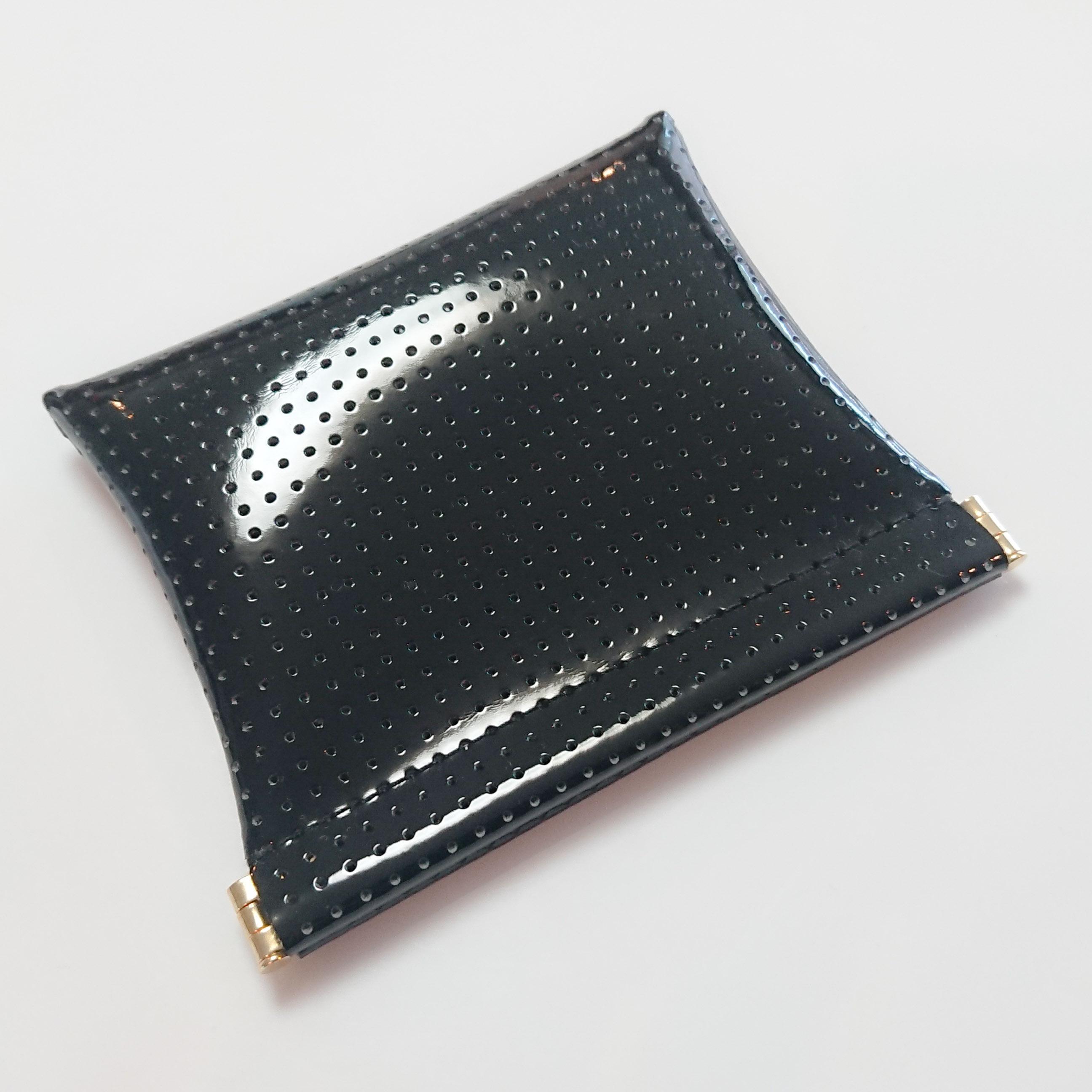 OSORO ポーチ ☆ 黒ごま 薄い財布 ティーケース