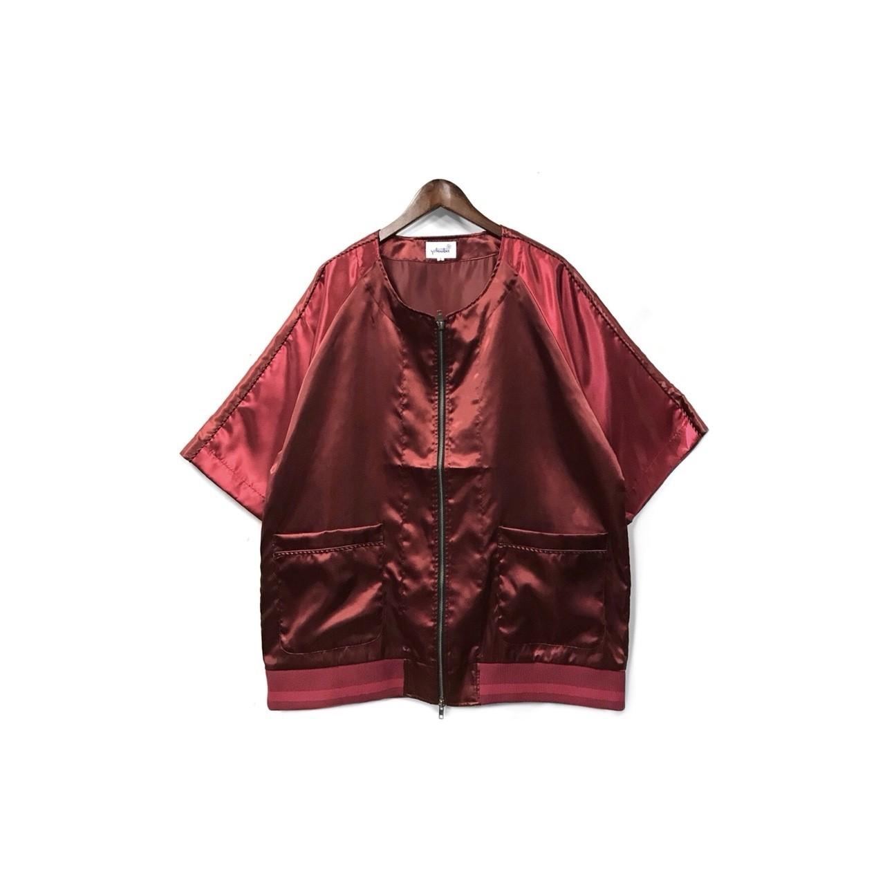 yotsuba - Souvenir baseball Shirt / Wine Red ¥26000+tax
