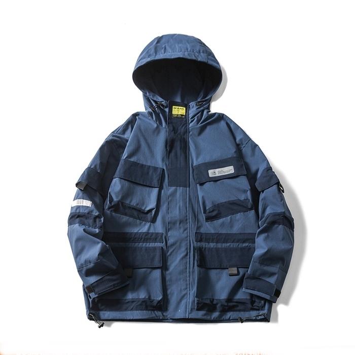 【UNISEX】アウトドア マウンテンジャケット【2colors】