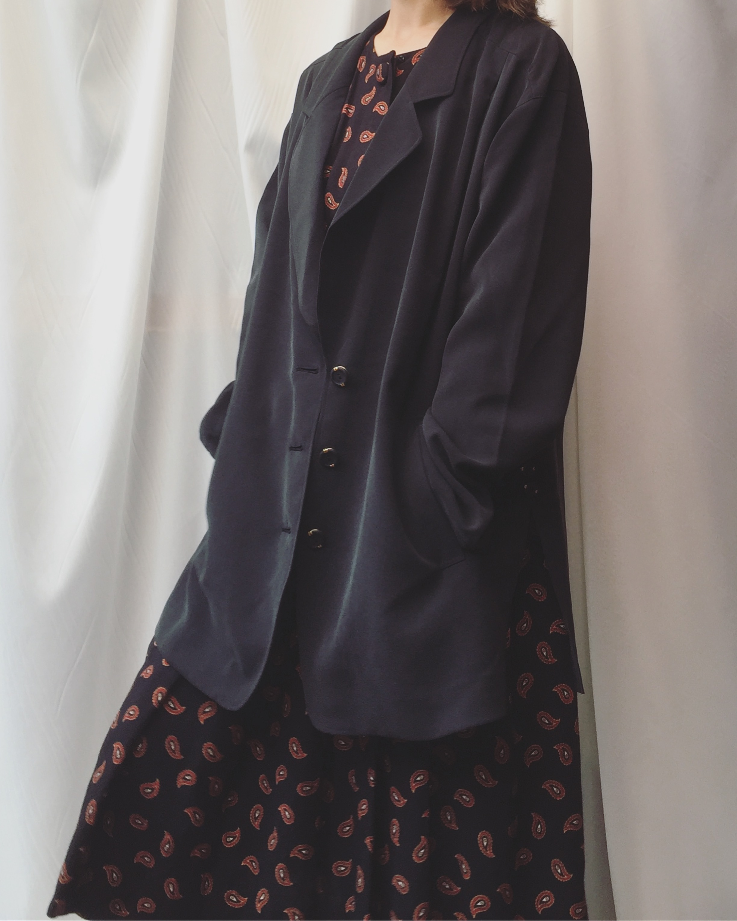 vintage oversized outer