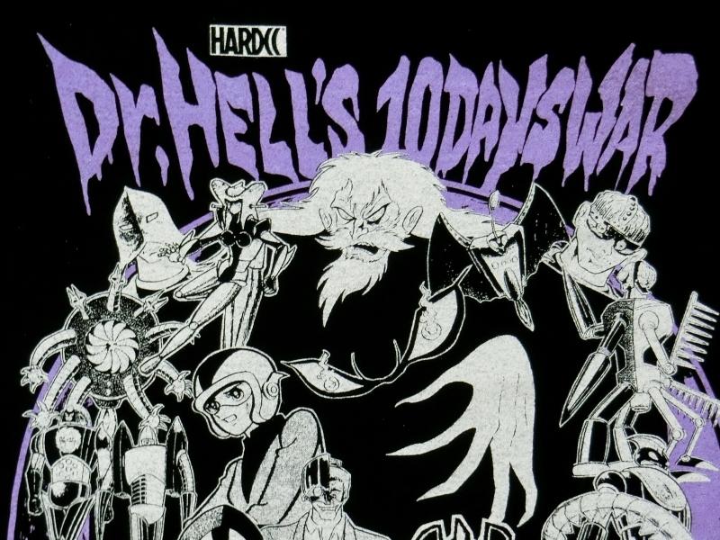 ドクター・地獄・地獄の10日戦争-復刻版-(IRONブラック) /ハードコアチョコレート