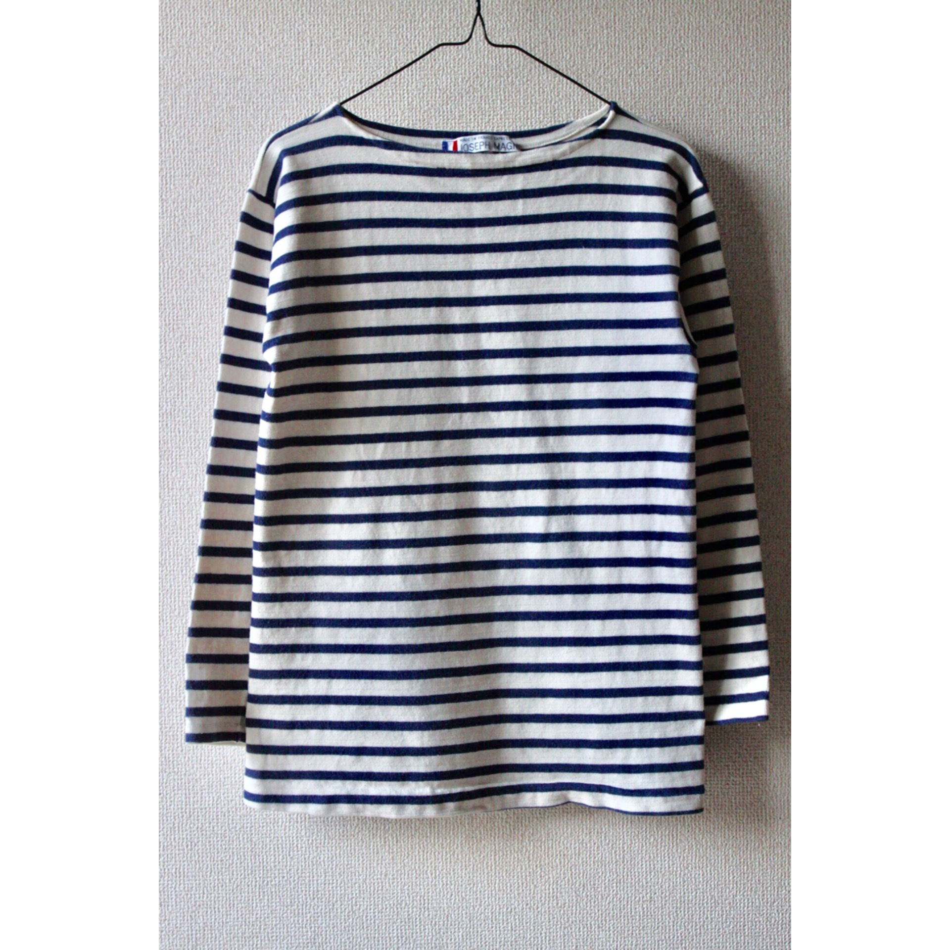 Vintage border long sleeve shirt
