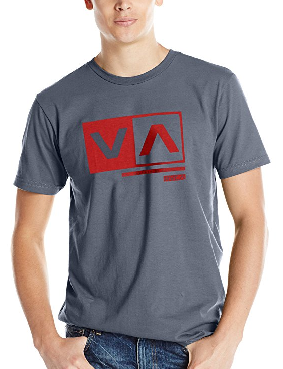 RVCA Men's Cut Out Box Tシャツ