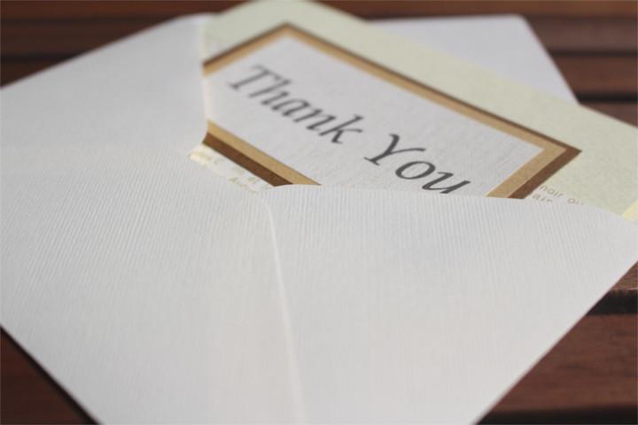 """Shiori のメッセージカード """"Thank You""""_2"""