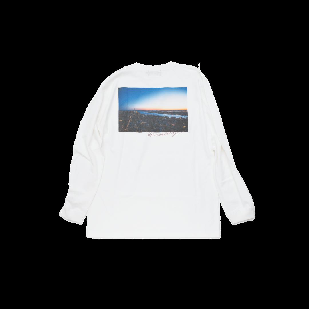 K'rooklyn Logo T-Shirt × cherry chill will. - White