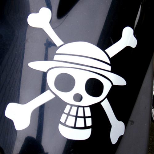 ルフィ海賊旗カッティングステッカー [ワンピース] / COSPA