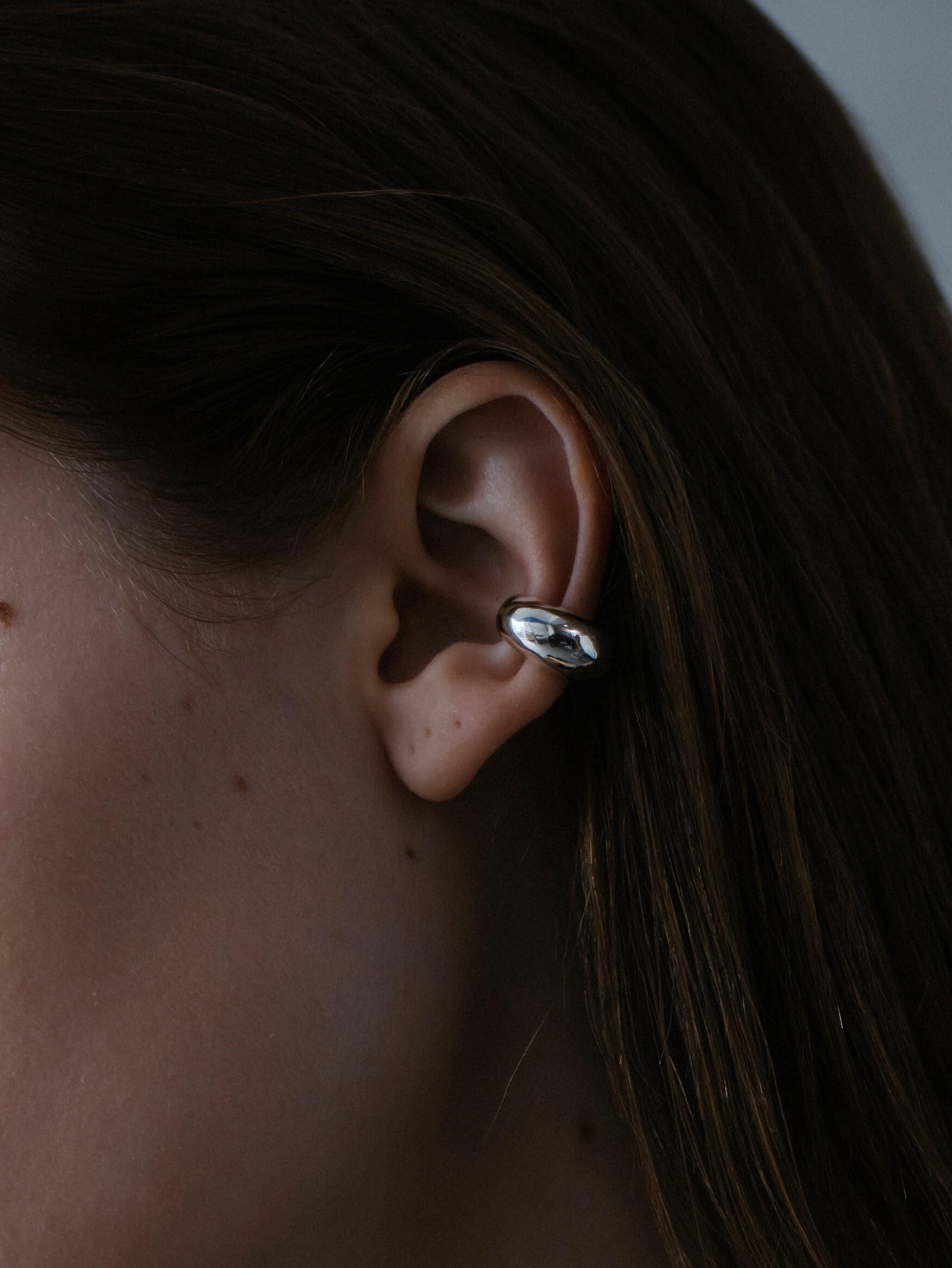 volume big earcuff silver(再入荷)