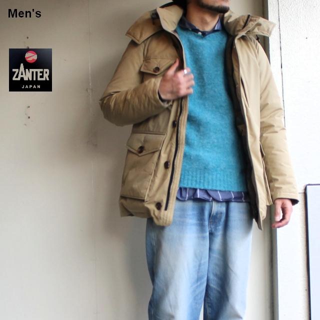 ZANTER JAPAN DOWN PARKA WP-H (ベージュ)