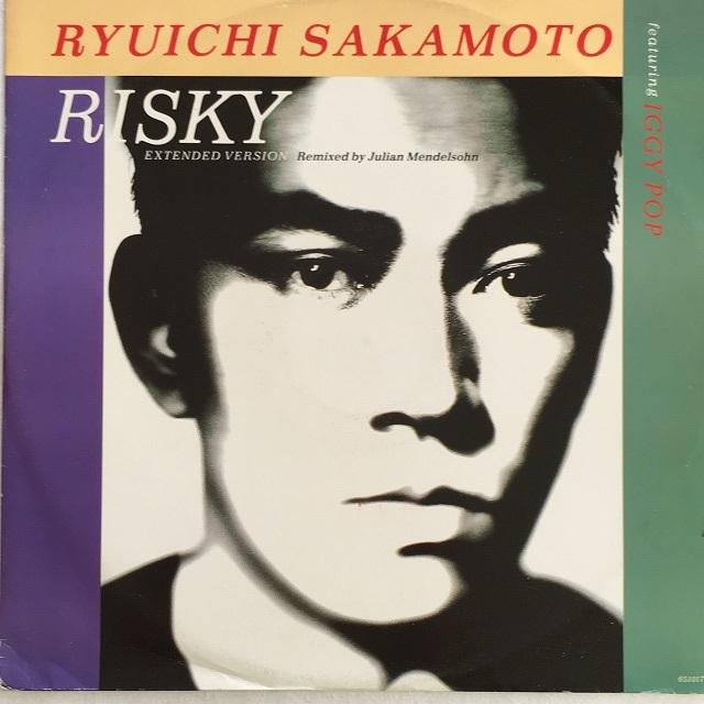 【12inch・英盤】Ryuichi Sakamoto Featuring Iggy Pop /  Risky (Extended Version)