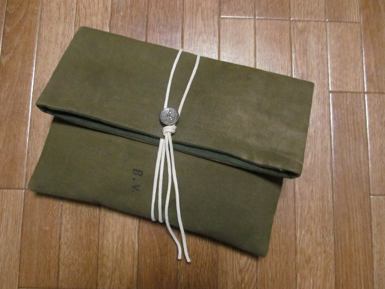 60S MILITARY STYLE CLUTCH BAG