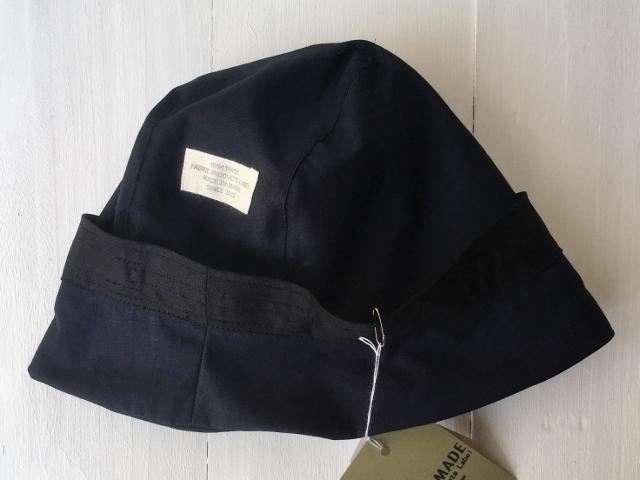 受注製作)LINEN ROPE HELMA HAT | NAVY【M/L】