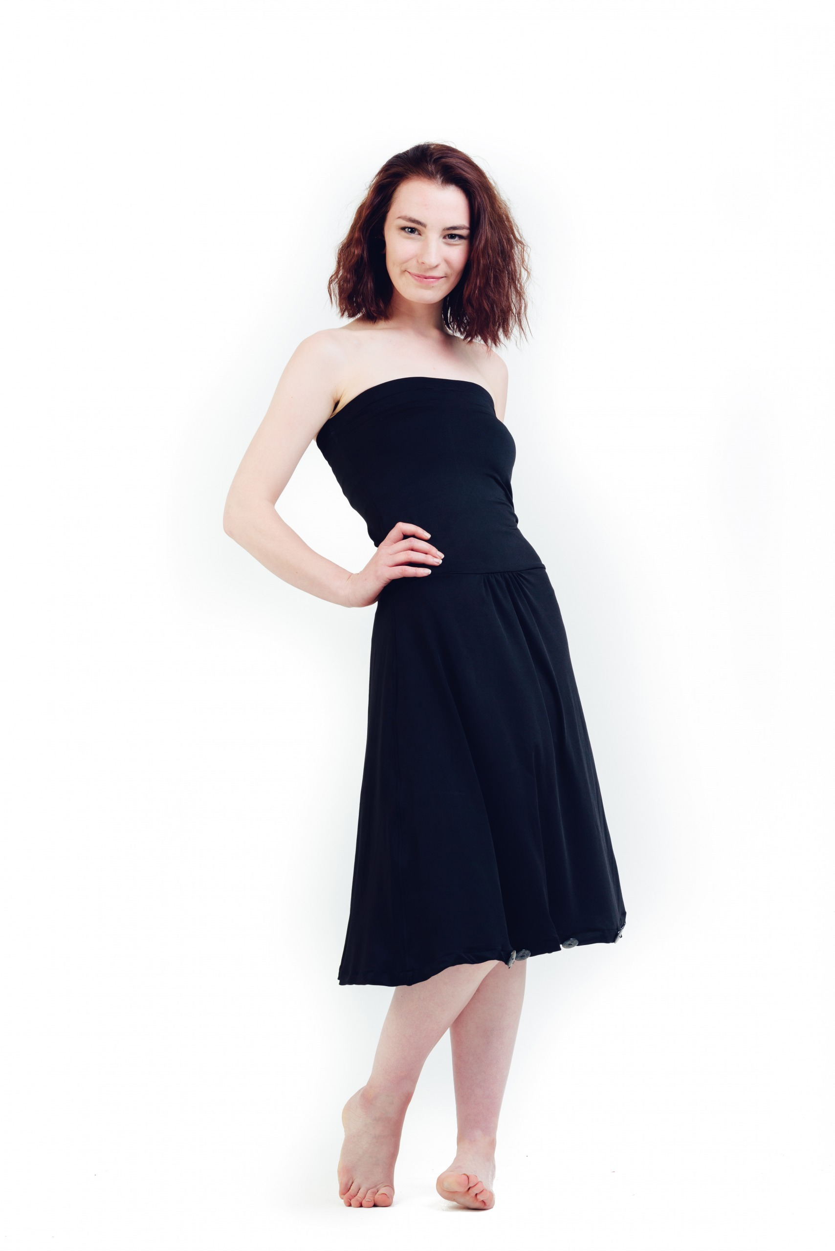 TRAVEL DRESS BLACK