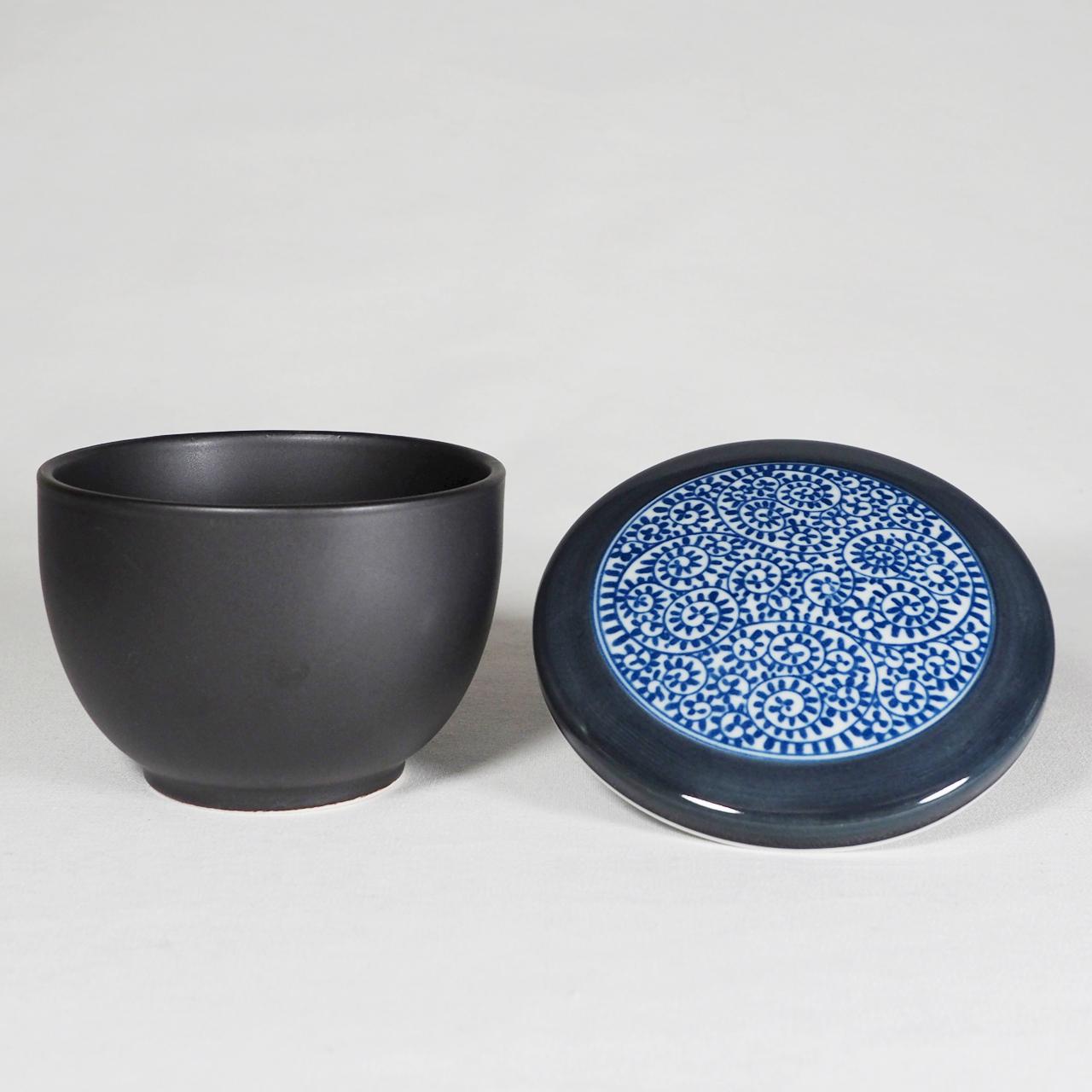 セラミック一膳 おひつ(タコ唐草) 50-001-B