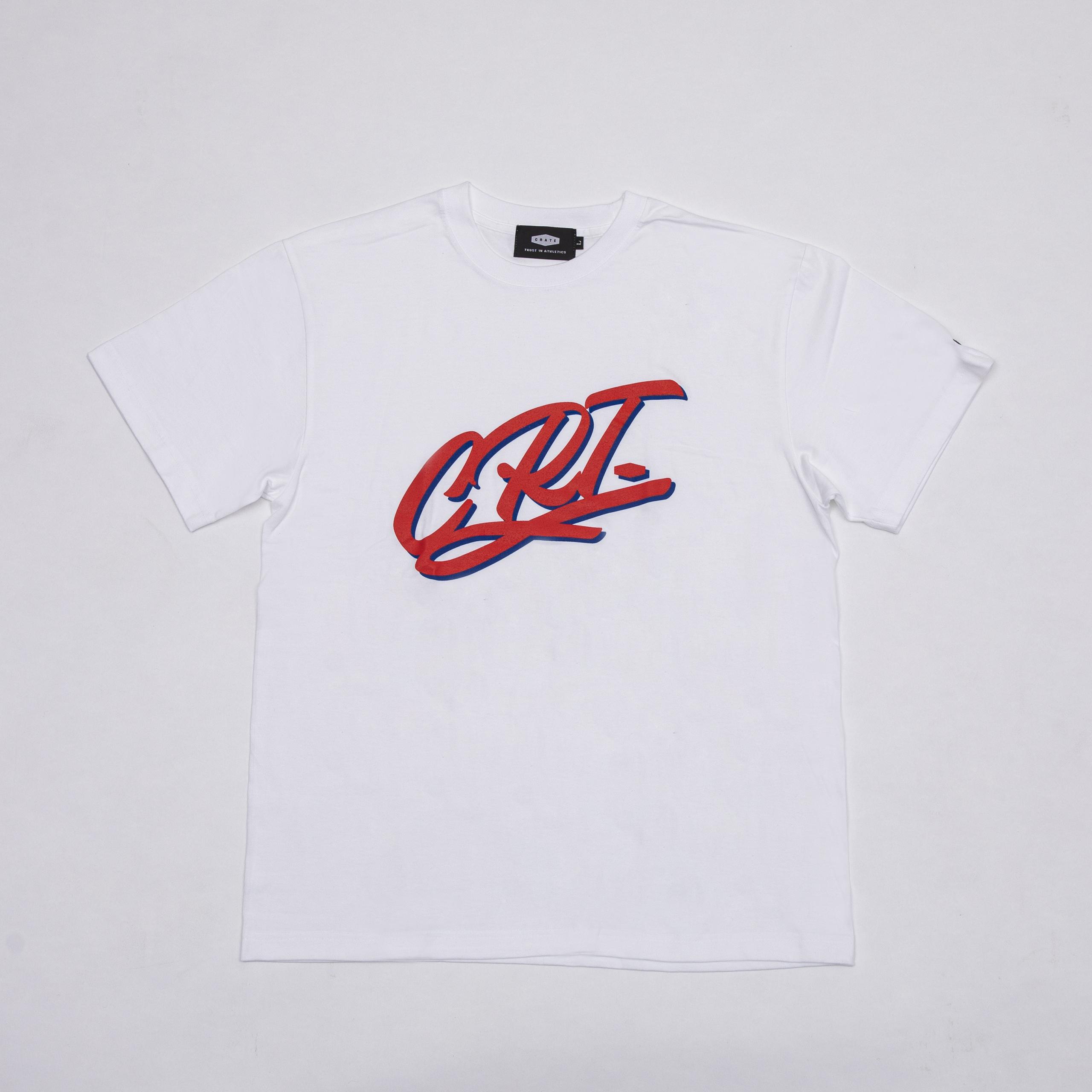 CRT T-SHIRTS WHITE