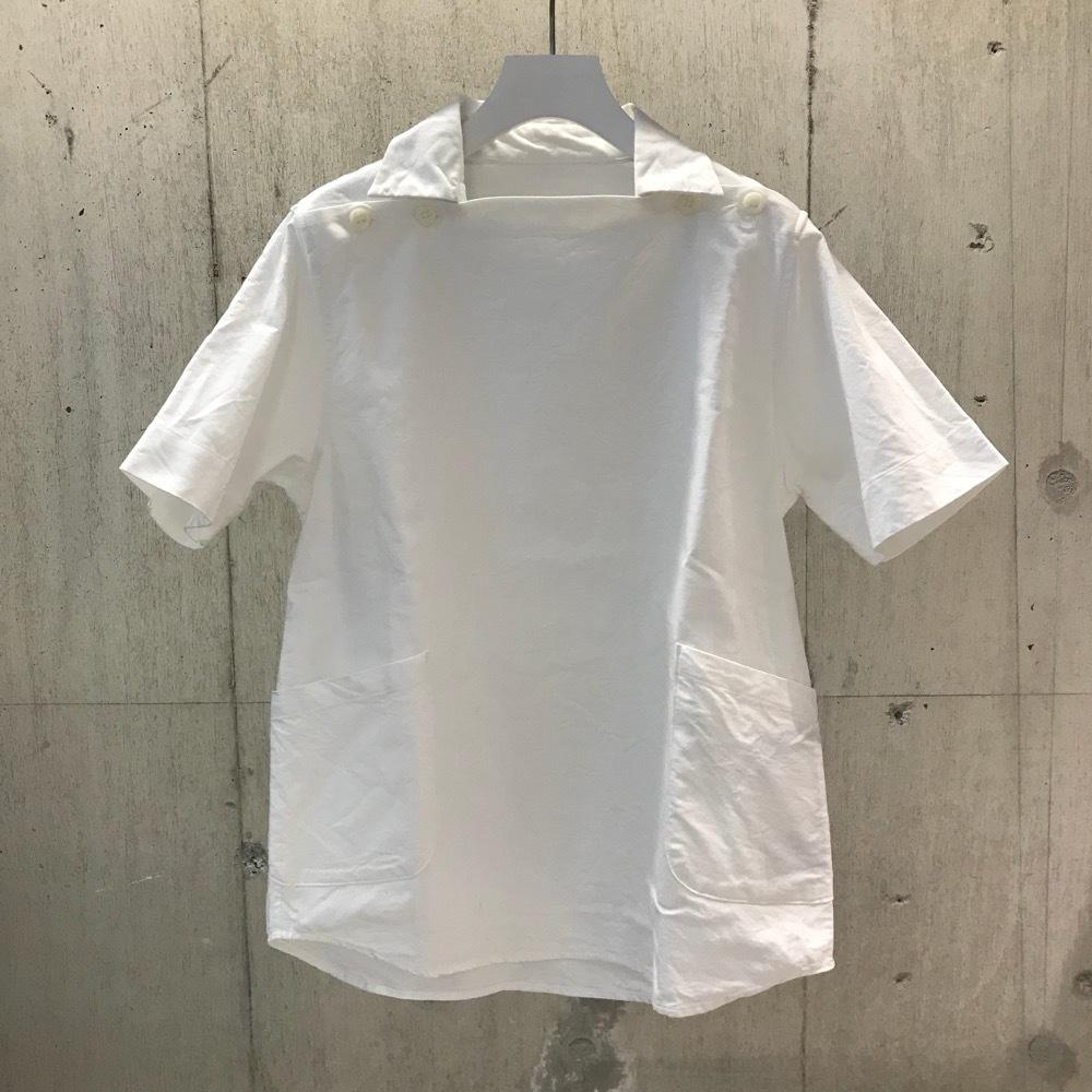 nisica デッキマンシャツ S/S ホワイト