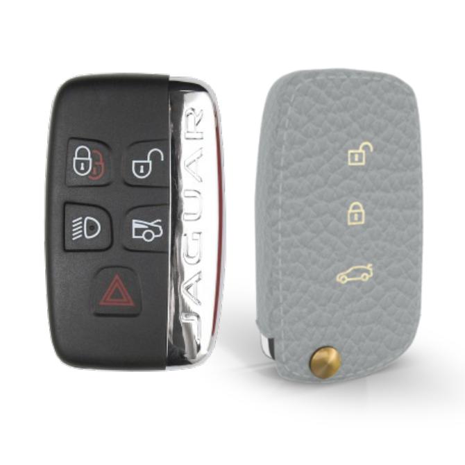 Jaguar 専用 TypeA Car Key Case Shrink Leather Case