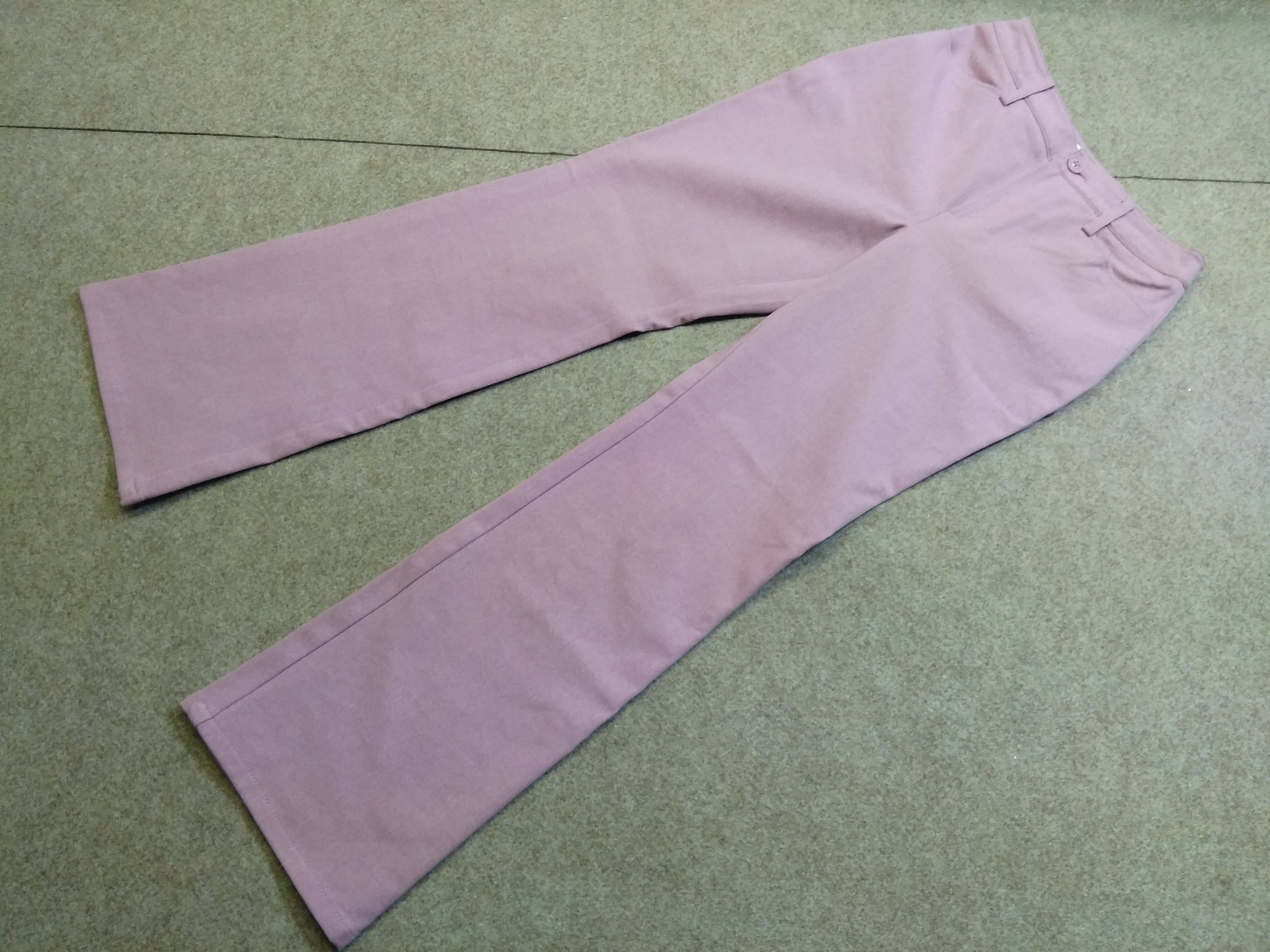 B-Three ビースリー ストレッチ パンツ 30 薄紫 mu965c