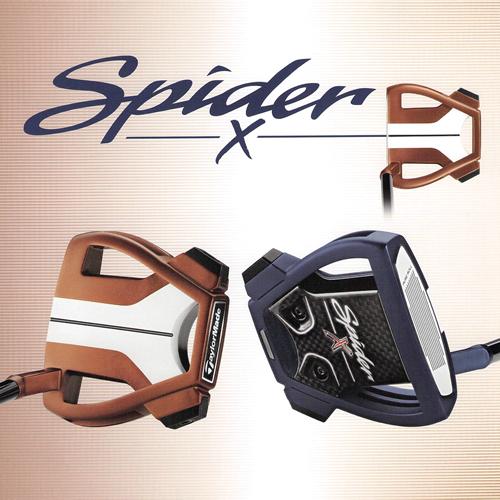 テーラーメイド Spider X     パター