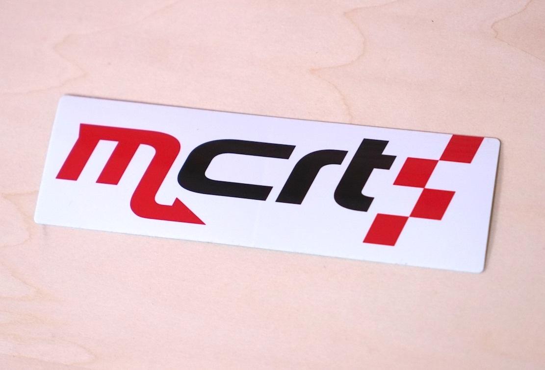 mCrtステッカー【税込価格】