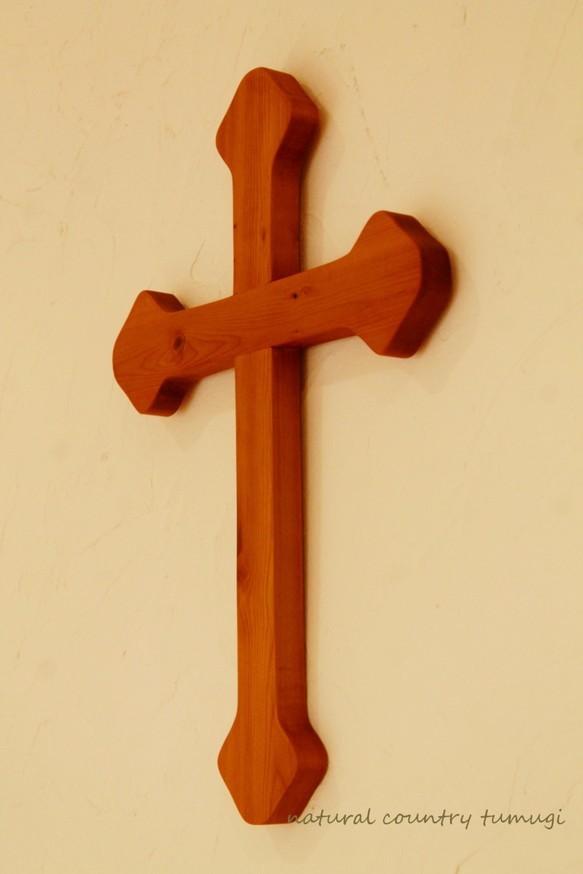 wooden cross#2(木製の十字架)