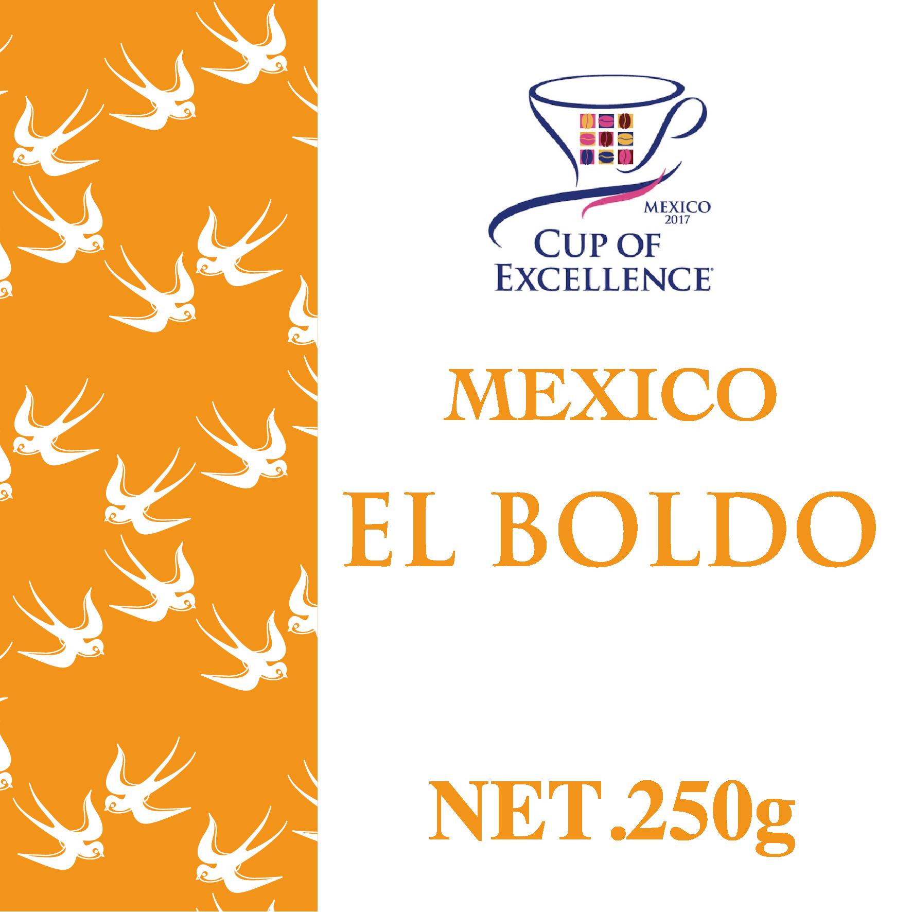 250g メキシコ・エル ボルド農園/COE2017受賞