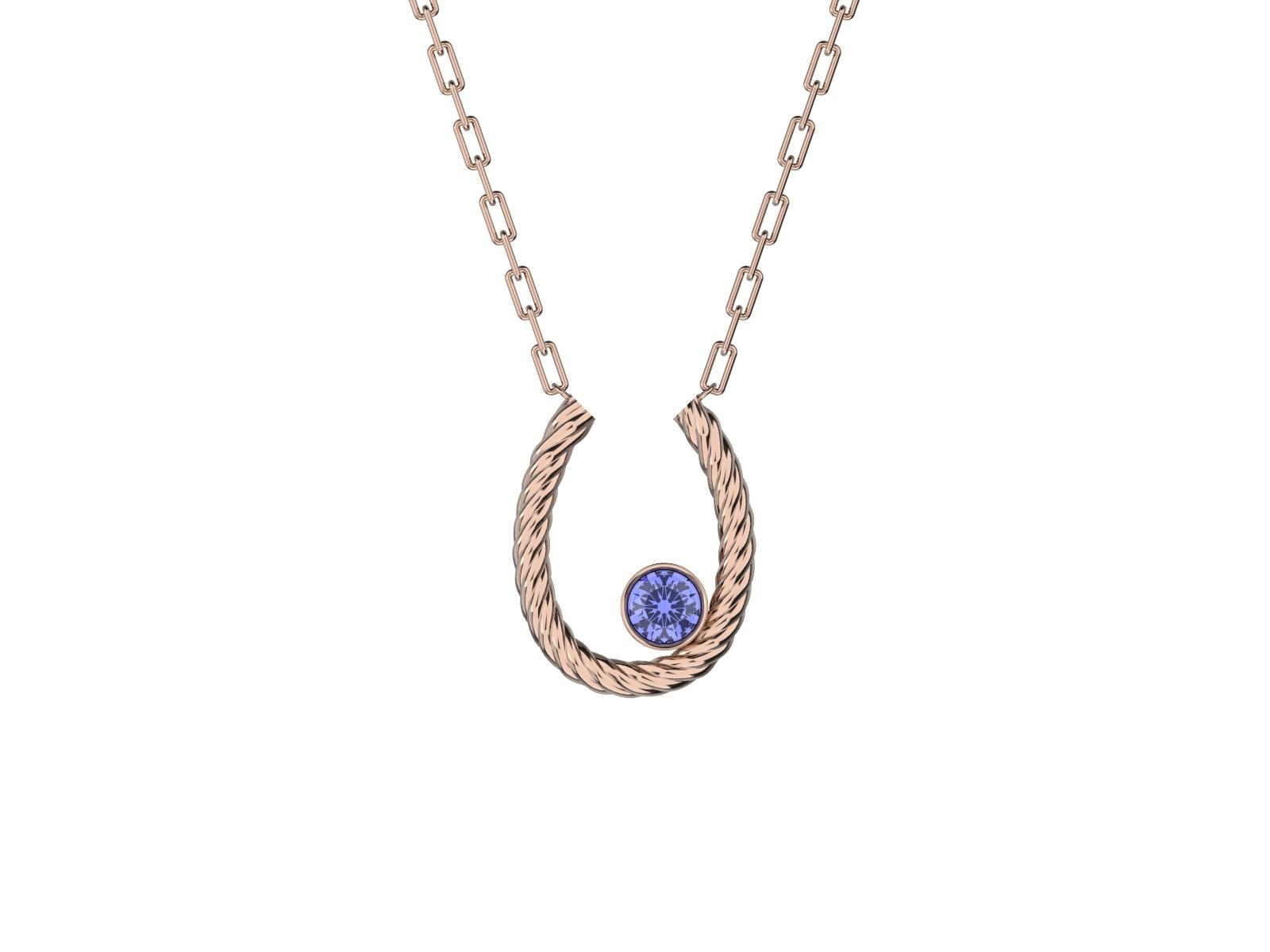 K18PG Necklace