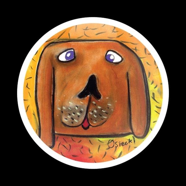 ゴーバッジ(ドーム)(CD0113 - DOG GUS) - 画像1