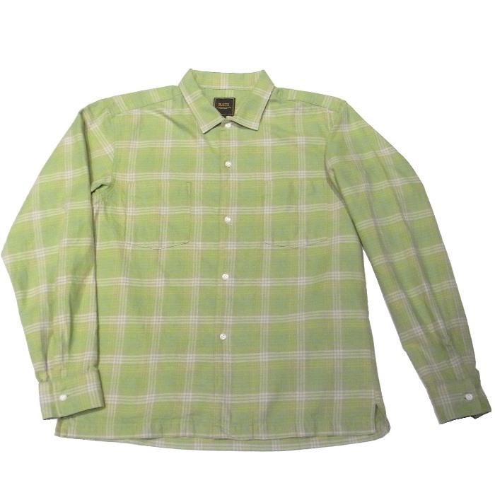 RATS(ラッツ) / COTTON CHECK SHIRT(17'RS-0306)(チェックシャツ)