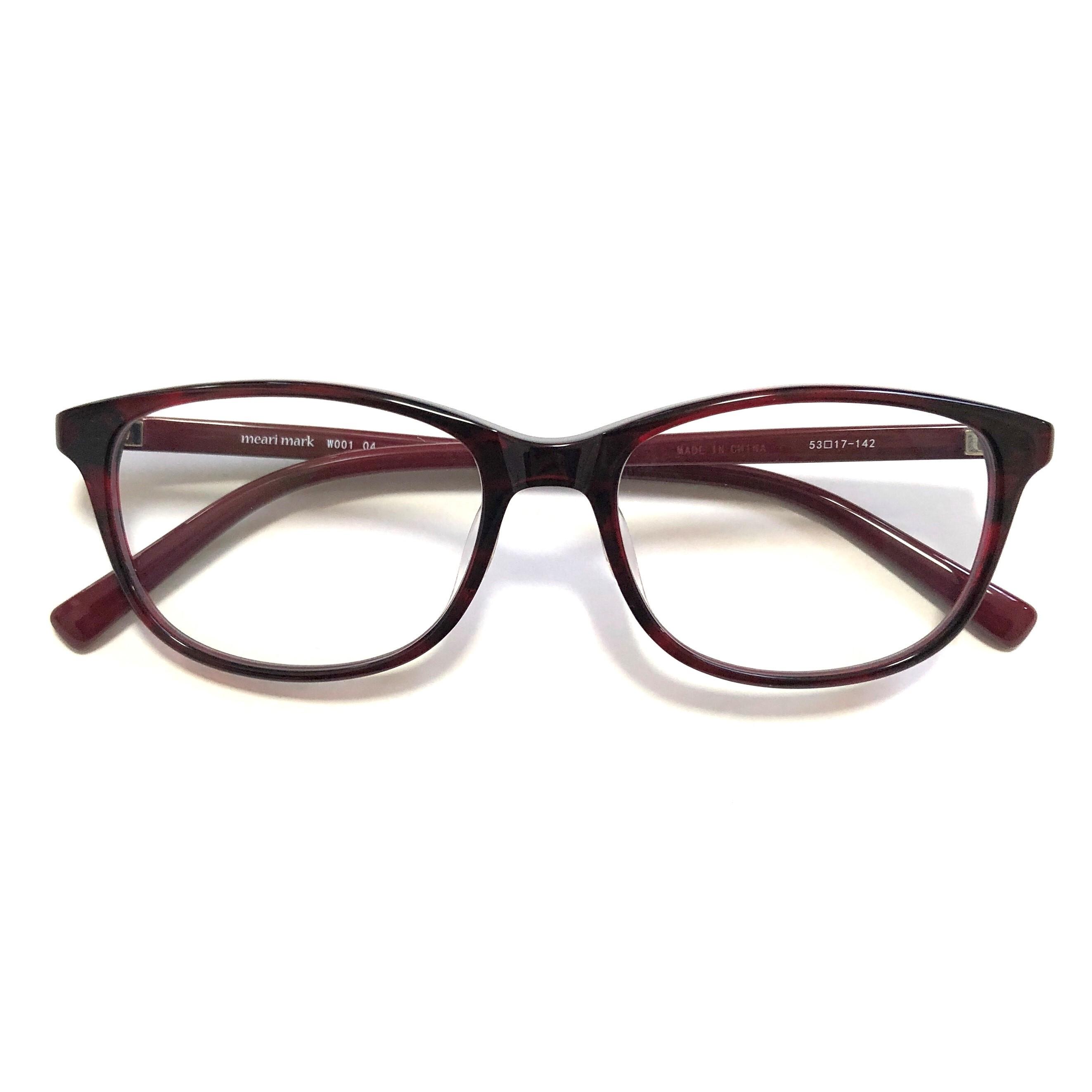 meari mark W001 04(紫外線カットレンズ付きファッショングラス)