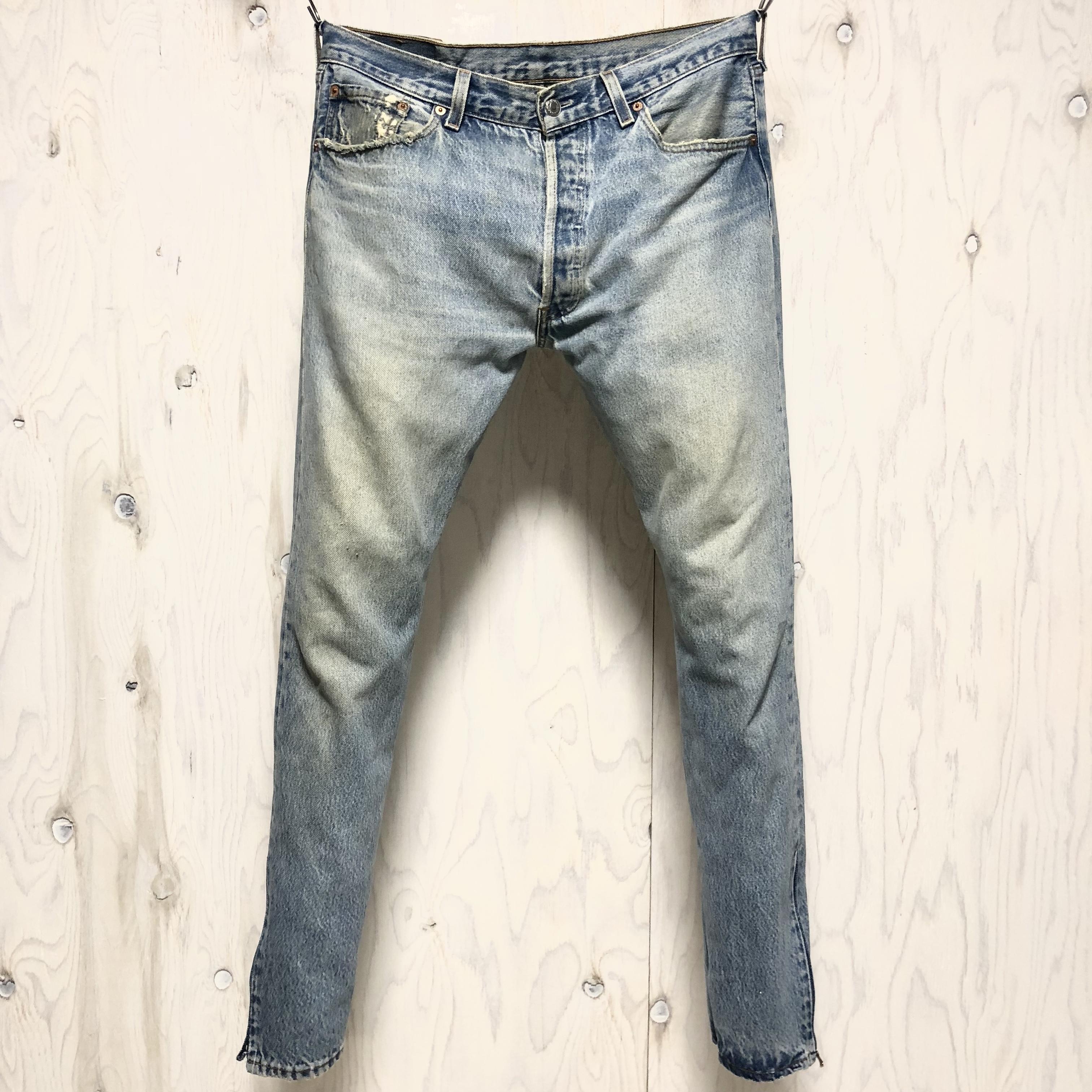 Levi`s 501 riri zip custom w34